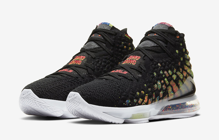 Nike LeBron 17 Black Multi BQ3177-005 02