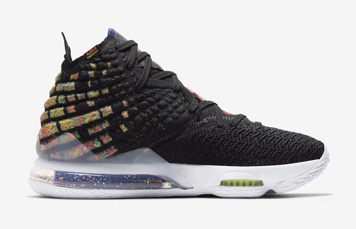 Nike LeBron 17 Black Multi BQ3177-005 03