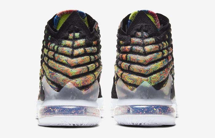 Nike LeBron 17 Black Multi BQ3177-005 05