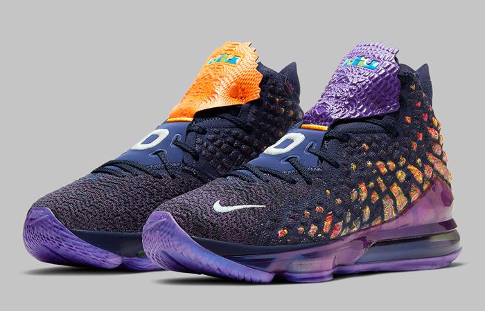 Nike LeBron 17 Monstars Berry CD5050-400 04