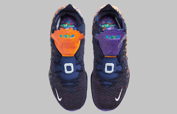 Nike LeBron 17 Monstars Berry CD5050-400 06