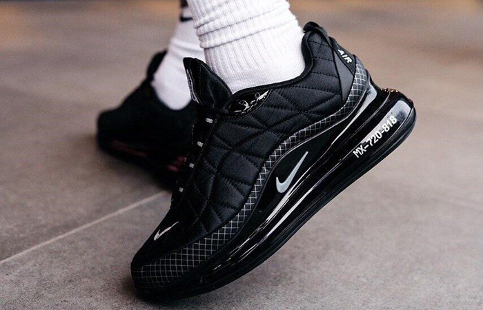 Nike MX 720-818 Premium Black CI3871-001 on foot 03