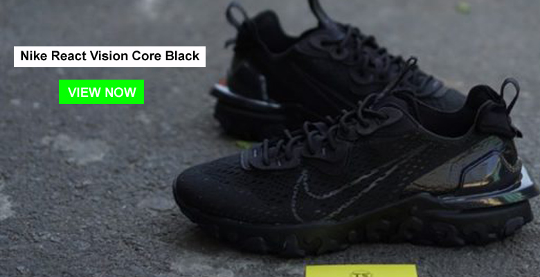 Nike React Vision Core Black slider