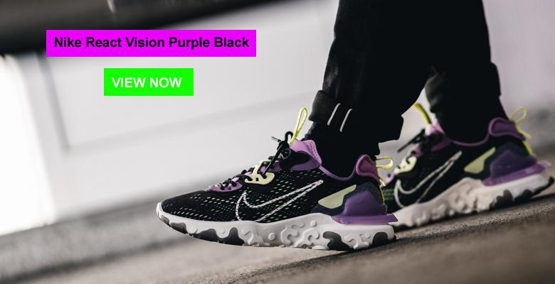 Nike React Vision Purple Black