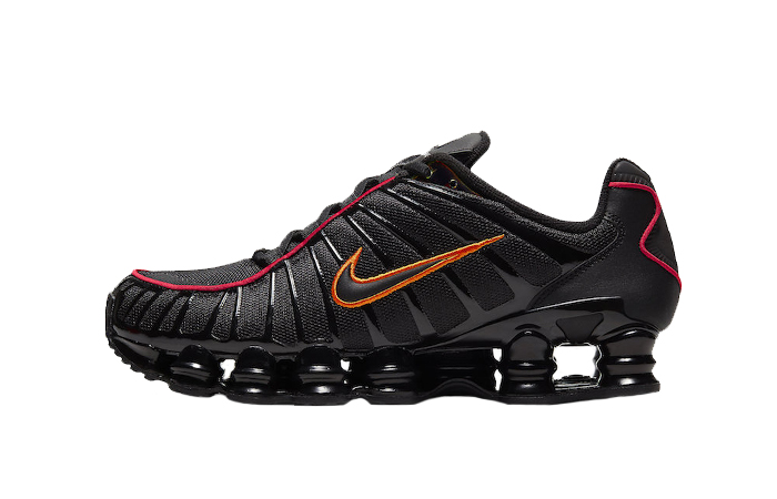 Nike Shox TL Black Orange CV1644-001 01