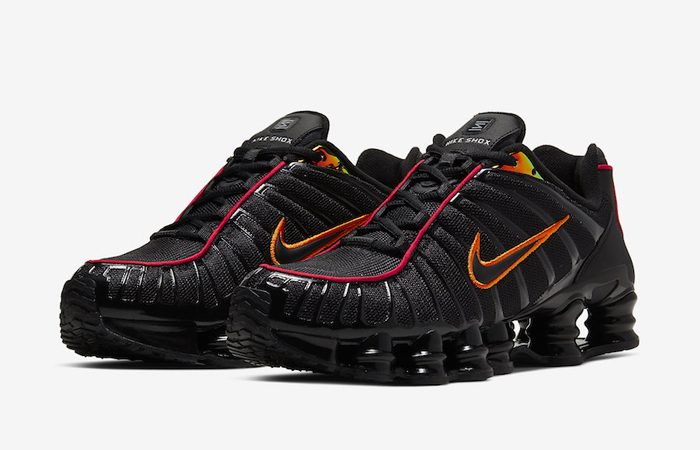 Nike Shox TL Black Orange CV1644-001 02