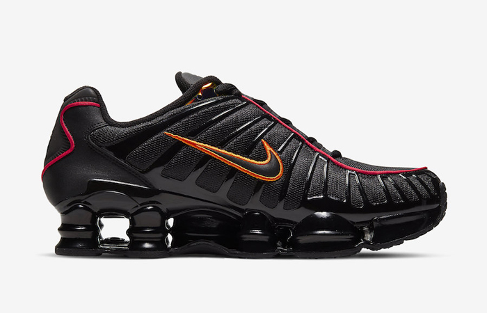 Nike Shox TL Black Orange CV1644-001 03