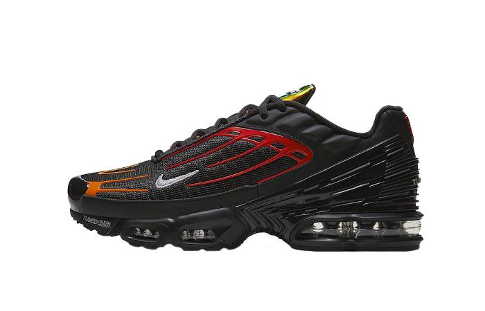 Nike Tuned 3 Black Orange CV1643-001 01