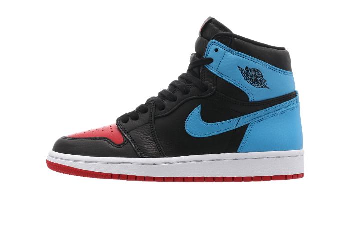 Nike Womens Air Jordan 1 High OG UNC TO CHICAGO Black CD0461-046 01