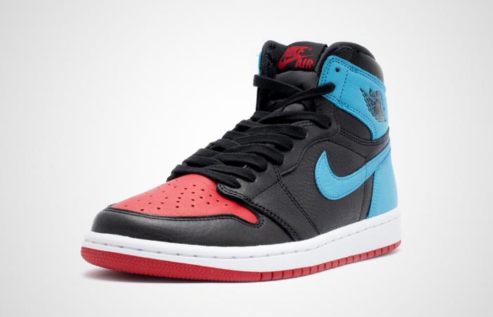 Nike Womens Air Jordan 1 High OG UNC TO CHICAGO Black CD0461-046 02