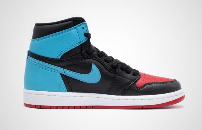 Nike Womens Air Jordan 1 High OG UNC TO CHICAGO Black CD0461-046 03