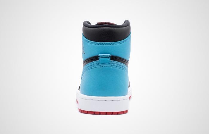 Nike Womens Air Jordan 1 High OG UNC TO CHICAGO Black CD0461-046 04