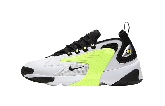 Nike Zoom 2K White Volt Lime White CW2372-101 01