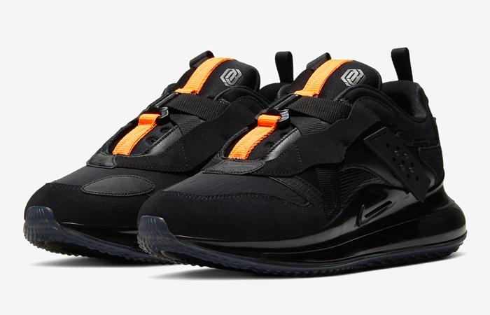 OBJ Nike Air Max 720 Slip Total Black DA4155-001 05