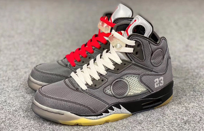 Off-White Nike Jordan 5 Ash CT8480-001 02