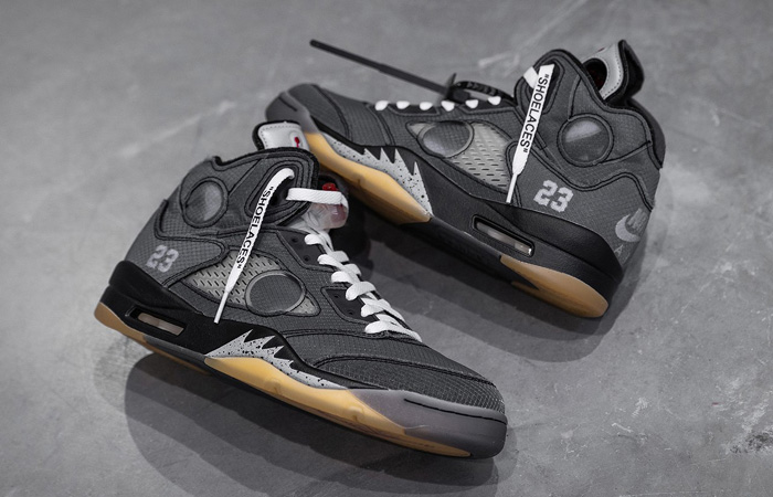 Off-White Nike Jordan 5 Ash Is The Most In Demanded Sneaker Release! ft
