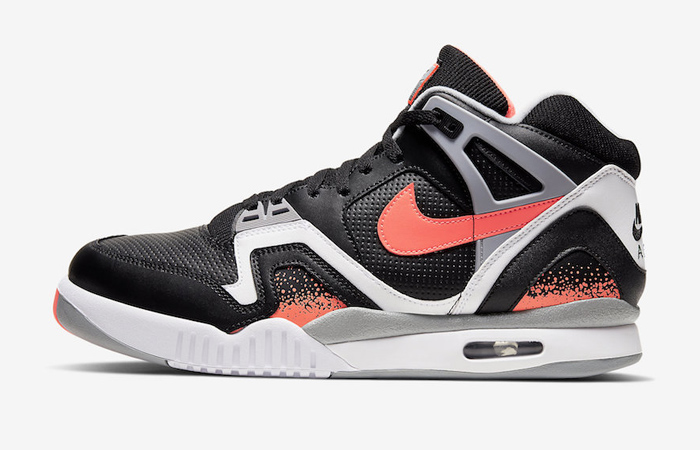 Official Images At The Nike Air Tech Challenge 2 Black Lava ft