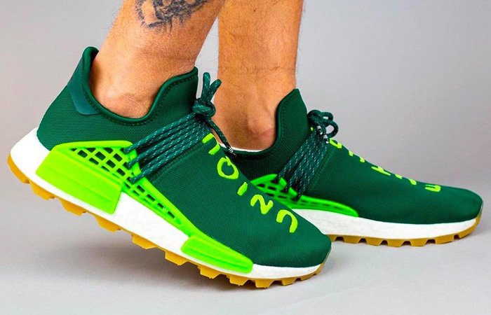 On Foot Look At The Pharrell adidas NMD Hu 2020 Collection ft