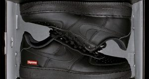 Supreme Officially Announced About The Nike Air Force 1 Low Black And White 02