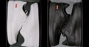 Supreme Officially Announced About The Nike Air Force 1 Low Black And White