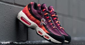 The Look Of The Nike Air Max 95 Villain Red Is So Satisfying 01