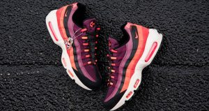 The Look Of The Nike Air Max 95 Villain Red Is So Satisfying 02