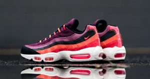 The Look Of The Nike Air Max 95 Villain Red Is So Satisfying