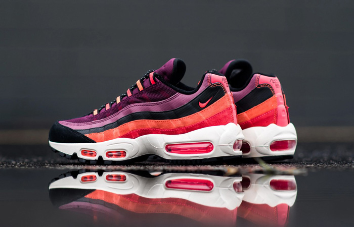 The Look Of The Nike Air Max 95 Villain Red Is So Satisfying ft