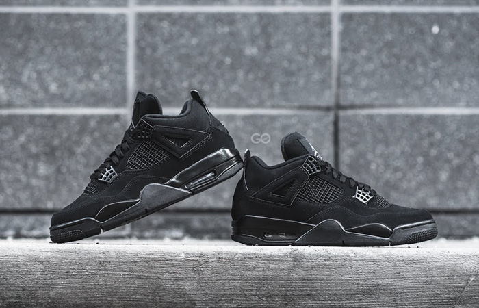 The Waiting For Air Jordan 4 Black Cat Is Over ft