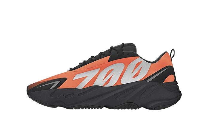 Yeezy Boost 700 MNVN Orange Black FV3258 01