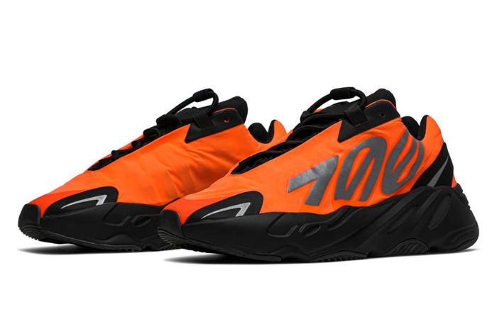 Yeezy Boost 700 MNVN Orange Black FV3258 02
