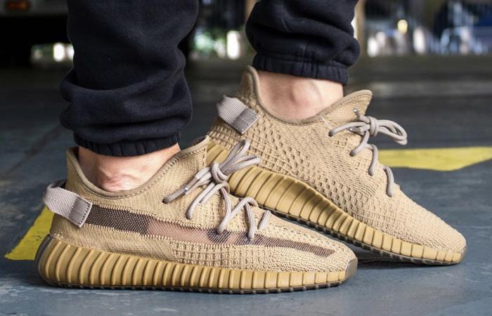 adidas Yeezy Boost Earth FX9033 on foot 02