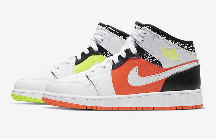 """Air Jordan 1 Mid """"Composition Notebook"""" Is Highly Appreciated For Spring ft"""