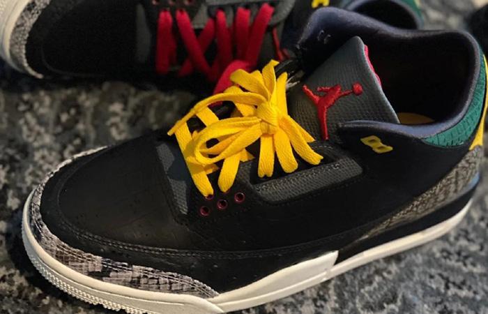 Detailed Look At The Air Jordan 3 'Animal Instinct' ft