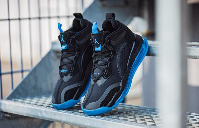 Detailed Look At The Upcoming Nike Jordan Aerospace 720 Black Racer Blue ft
