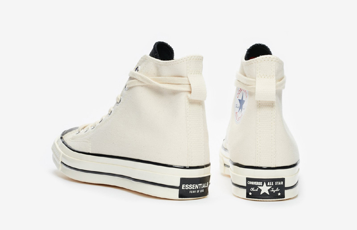 Fear of God Converse Chuck 70 Hi Off White 167955C 05