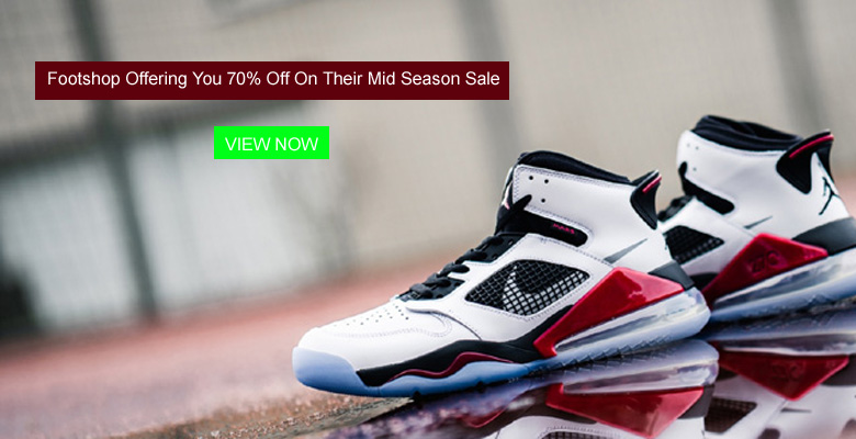 Footshop Offering You 70% Off On Their Mid Season Sale