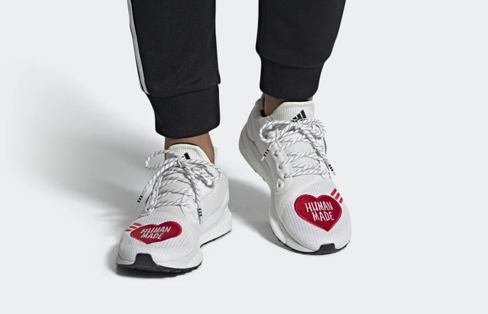 Human Made adidas Solar Hu Red White Making A Restock! ft