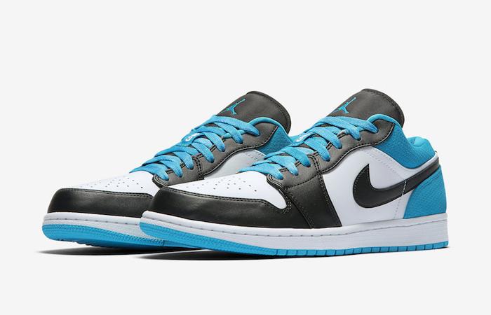 Jordan 1 Low Blue Black CK3022-004 02