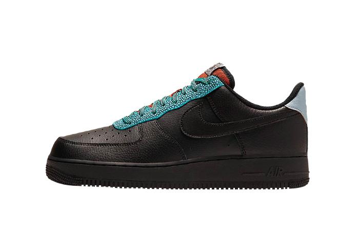 Nike Air Force 1 07 LV8 Black Obsidian CK4363-001 01
