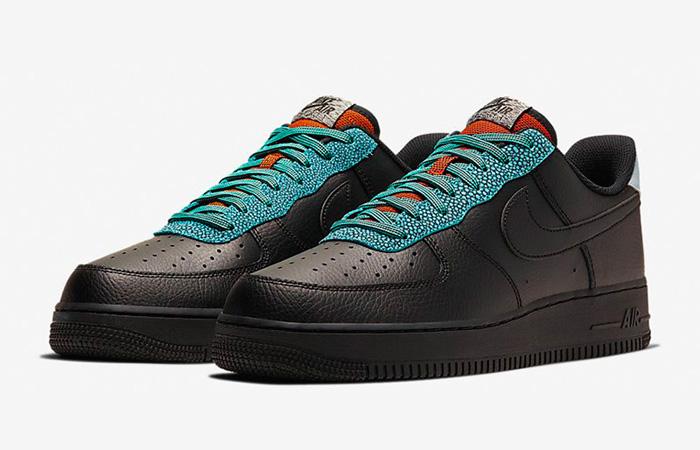 Nike Air Force 1 07 LV8 Black Obsidian CK4363-001 02