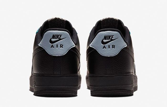 Nike Air Force 1 07 LV8 Black Obsidian CK4363-001 04