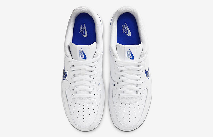 Nike Air Force 1 Low Blue Sketch White CW7581-100 03