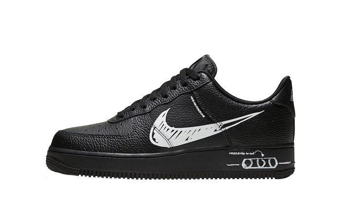 Nike Air Force 1 Low Sketch Core Black CW7581-001 01