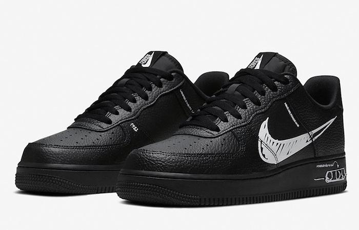 Nike Air Force 1 Low Sketch Core Black CW7581-001 02