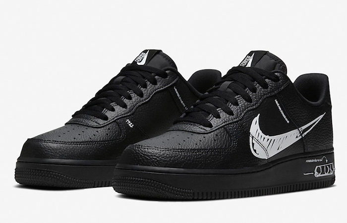 Nike Air Force 1 Low Sketch Core Black CW7581-001 02