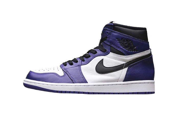 Nike Air Jordan 1 Purple 555088-500 01