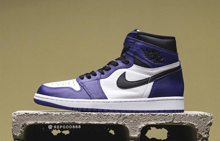 Nike Air Jordan 1 Purple 555088-500 02