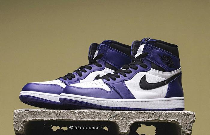 Nike Air Jordan 1 Purple 555088-500 03