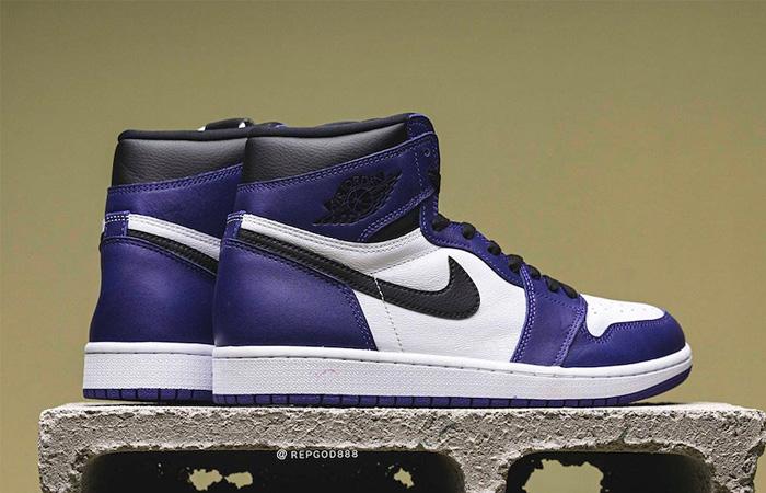 Nike Air Jordan 1 Purple 555088-500 04